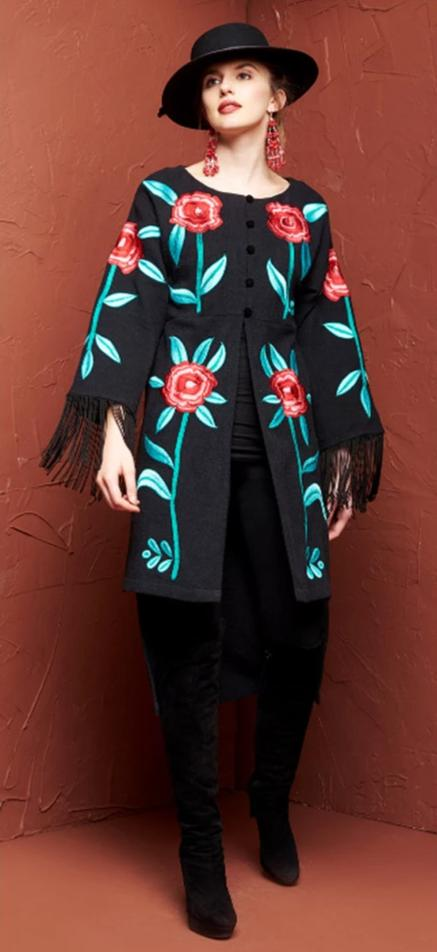 ROJA COLLECTION FIESTA COAT on SALE