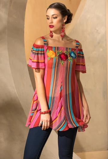 Roja Collection Fiesta Saltillo Top