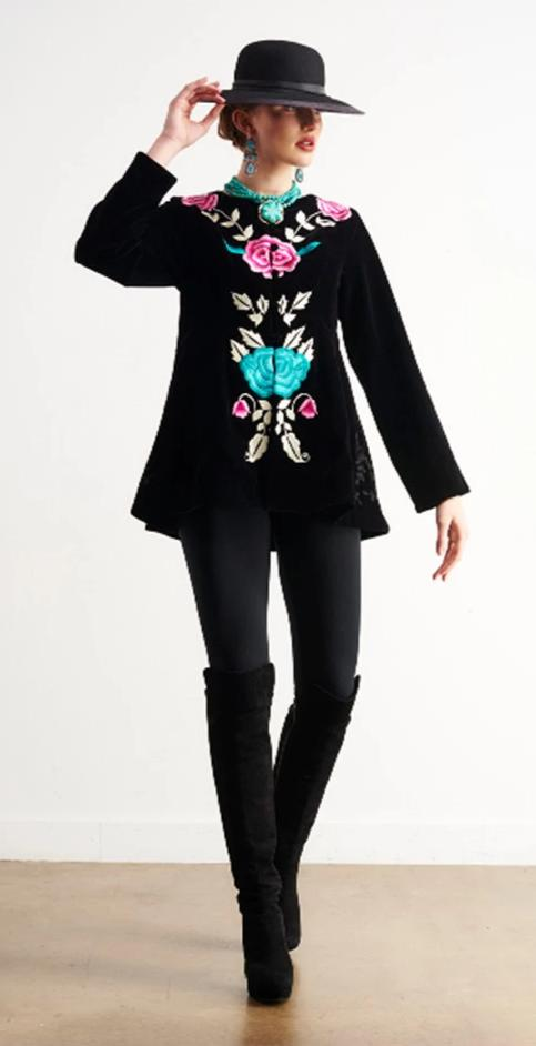 ROJA COLLECTION FLOATING GARDENS JACKET on SALE