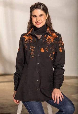 Roja Sedona Peasant Top Fall 2017