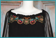 VINTAGE COLLECTION ISABELLA SQUARE NECK TUNIC_Collectible