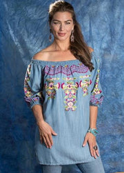 Vintage Collection Denim Jasmine Tunic