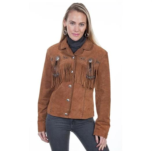 Scully Beaded and Fringe Jacket