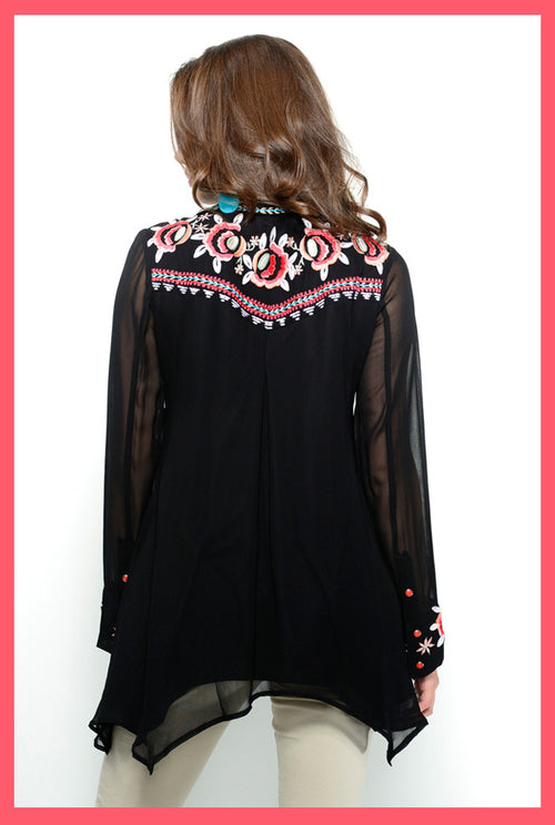 VINTAGE COLLECTION LANTANA TUNIC on SALE