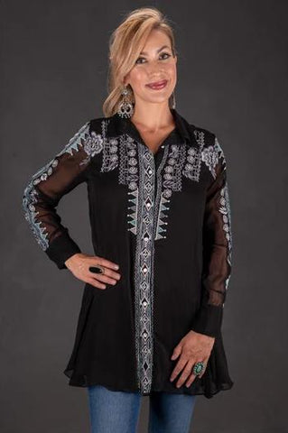 Vintage Collection Solid Gold Tunic Fall 2018