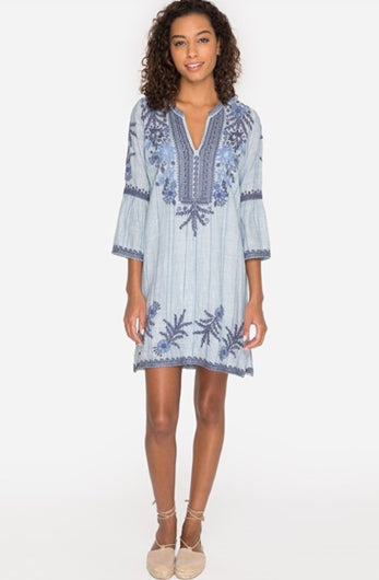 Johnny Was Lila Jo Flare Sleeve Tunic Dress