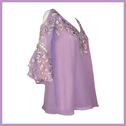 Vintage Collection Lilac Rose Tunic