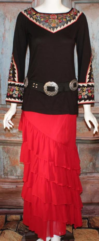 Vintage Collection Liz Bell Sleeve Top on SALE