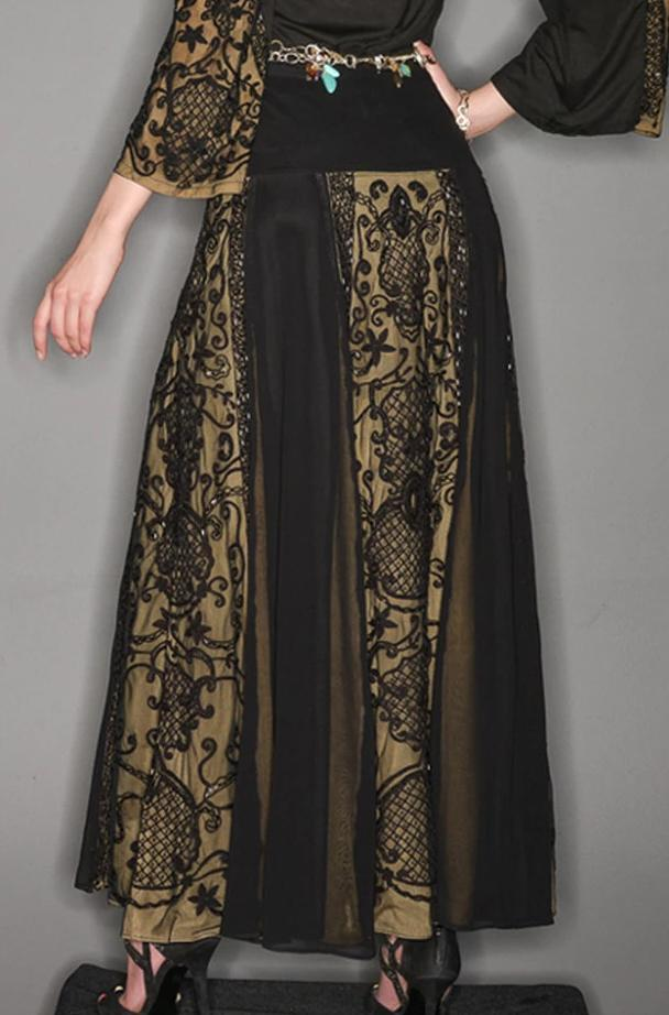 VINTAGE COLLECTION MIDNIGHT LONG SKIRT