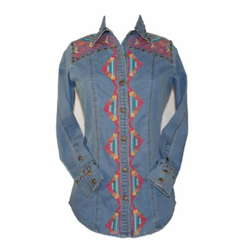 VINTAGE COLLECTION VELMA WESTERN SHIRT on SALE