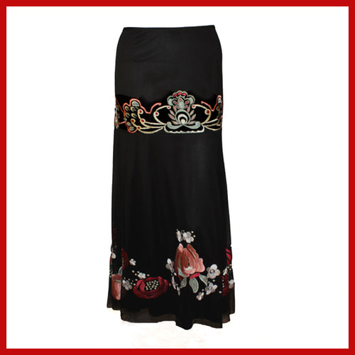 Vintage Collection Mayan Rose Skirt
