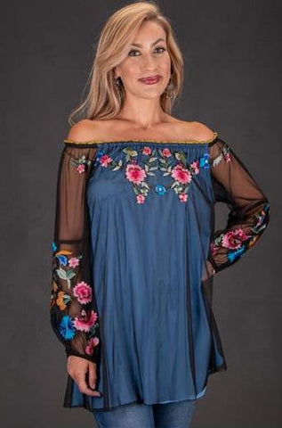 Vintage Collection Blue Bonnet Tunic Summer 2018