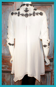 Vintage Collection MOONSTONE SWING TUNIC on SALE