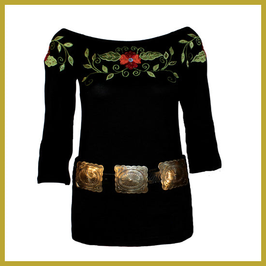 Vintage Collection Nature Saltillo Black Ballet Top