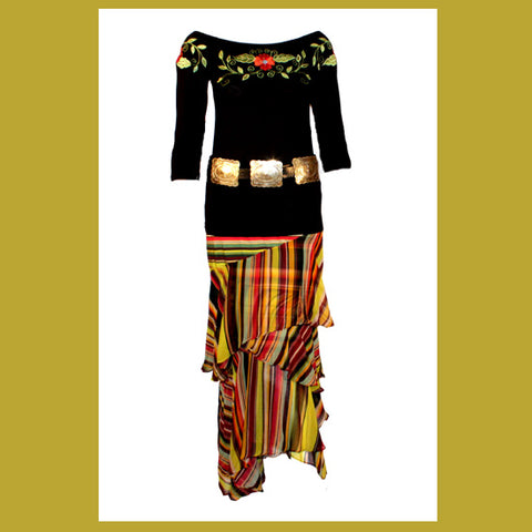 Vintage Collection Exotica Short Skirt_Collectible