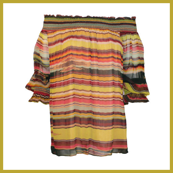Vintage Collection Nature Saltillo Peasant Tunic