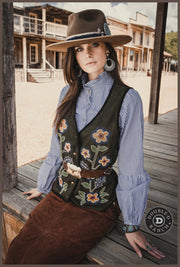 Double D Ranchwear North Platte Vest-Cody