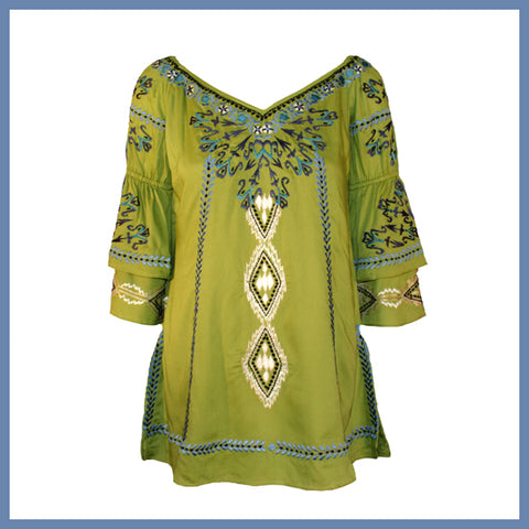 VINTAGE COLLECTION FIRE DANCE TUNIC COLLECTION_on SALE