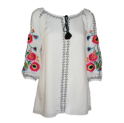 Vintage Collection White Palm Springs Tunic