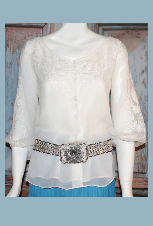 VINTAGE COLLECTION PARADISE BLOUSE_Collectible