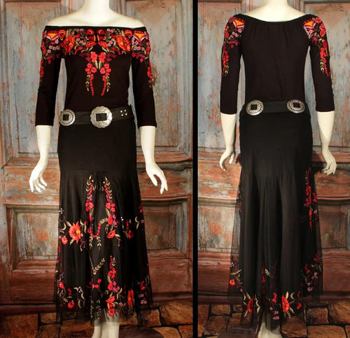 VINTAGE COLLECTION PASSION LONG SKIRT_Collectible