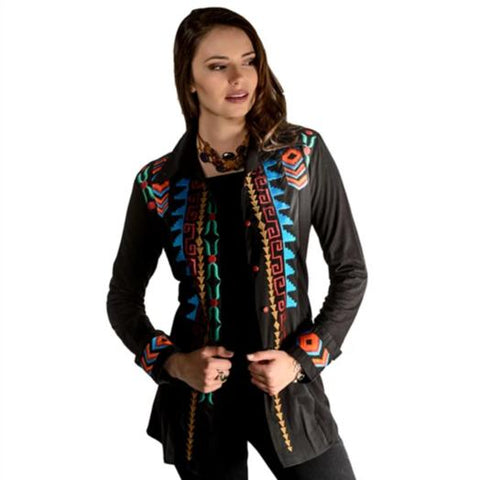 Roja Collection Navajo Nations Peasant Top