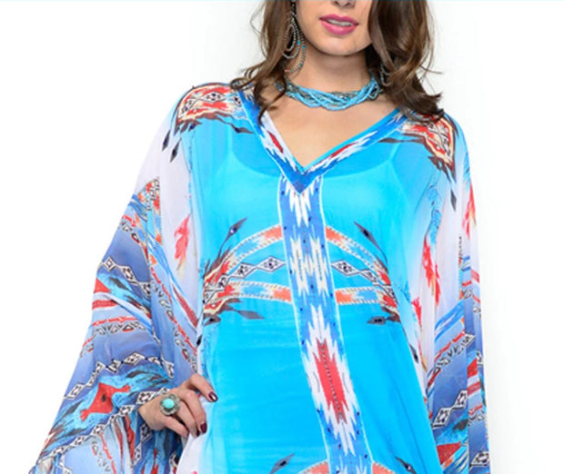 Vintage Collection River  Hi Low Poncho on SALE