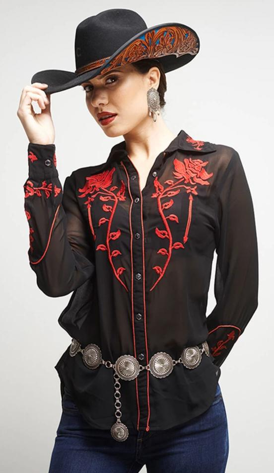 ROJA RODEO BLOUSE on SALE