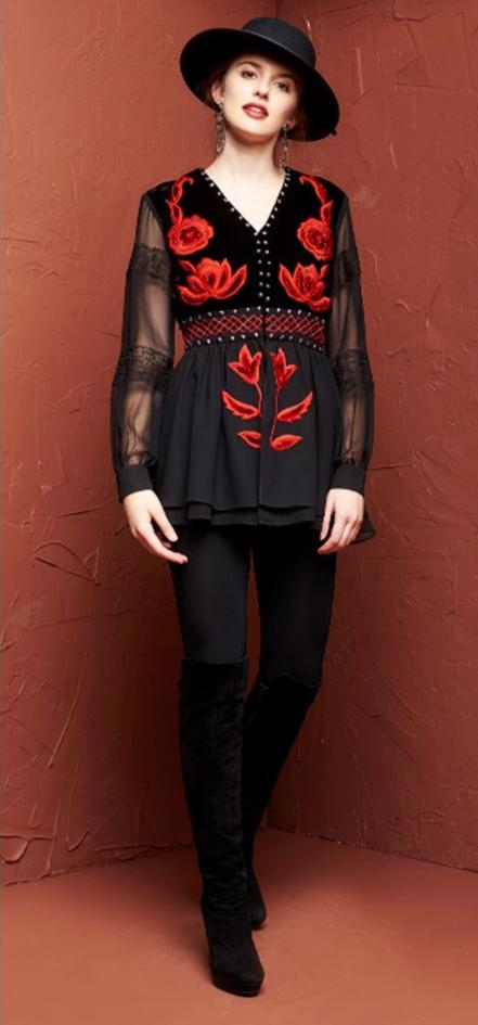 ROJA COLLECTION ROJA TOP on SALE