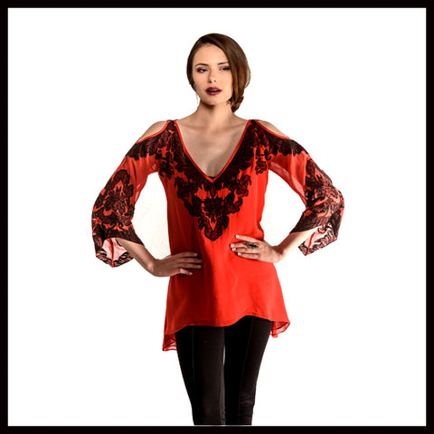 VINTAGE COLLECTION BOWIE TUNIC on SALE