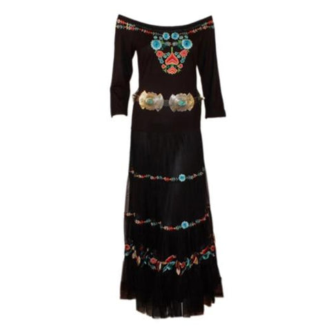 VINTAGE COLLECTION PEACE PIPE DRESS on SALE