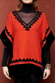 Roja Collection Santa Clara Poncho