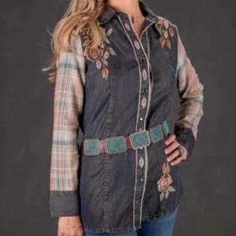 Vintage Collection Bouquet Western Shirt