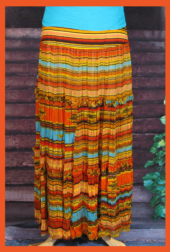 VINTAGE COLLECTION SUNSET SALTILLO SIMPLE SKIRT_Collectible