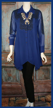 VINTAGE COLLECTION SKY TUNIC on SALE