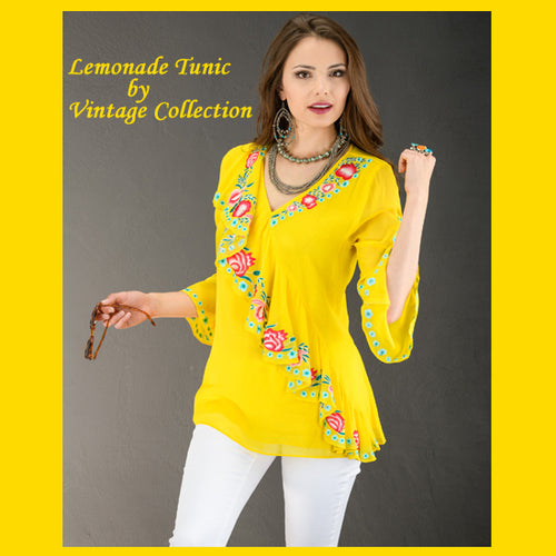 Vintage Collection Lemonade Tunic