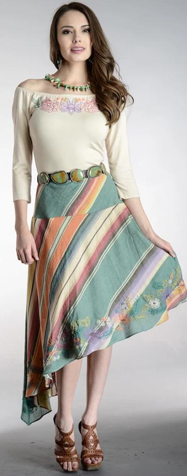 Vintage Collection St Tropez Asym Skirt on Sale