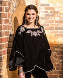 Roja Starry Night Capelet Poncho