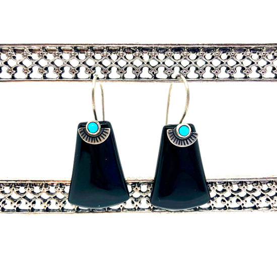 Double D Strata Earrings