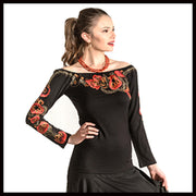 Vintage Collection Sunset Knit Ballet Top