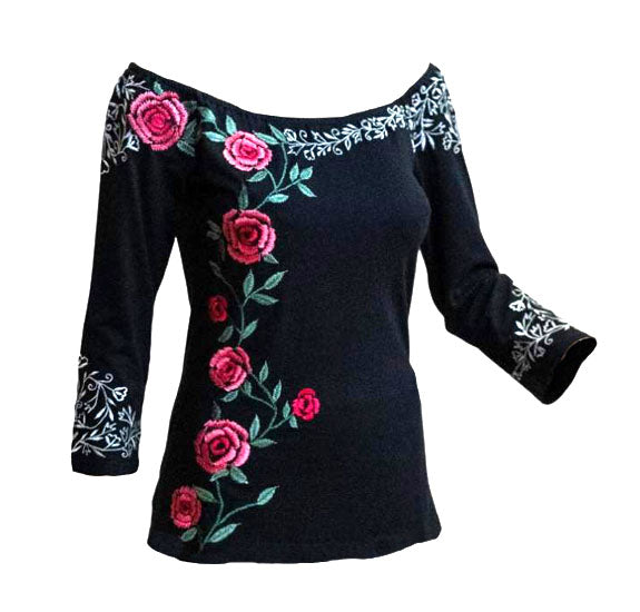 Vintage Collection Wild Rose Top