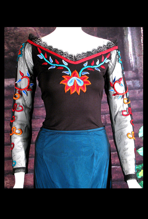 Vintage Collection FIRE DANCE KNIT TOP_Collectible