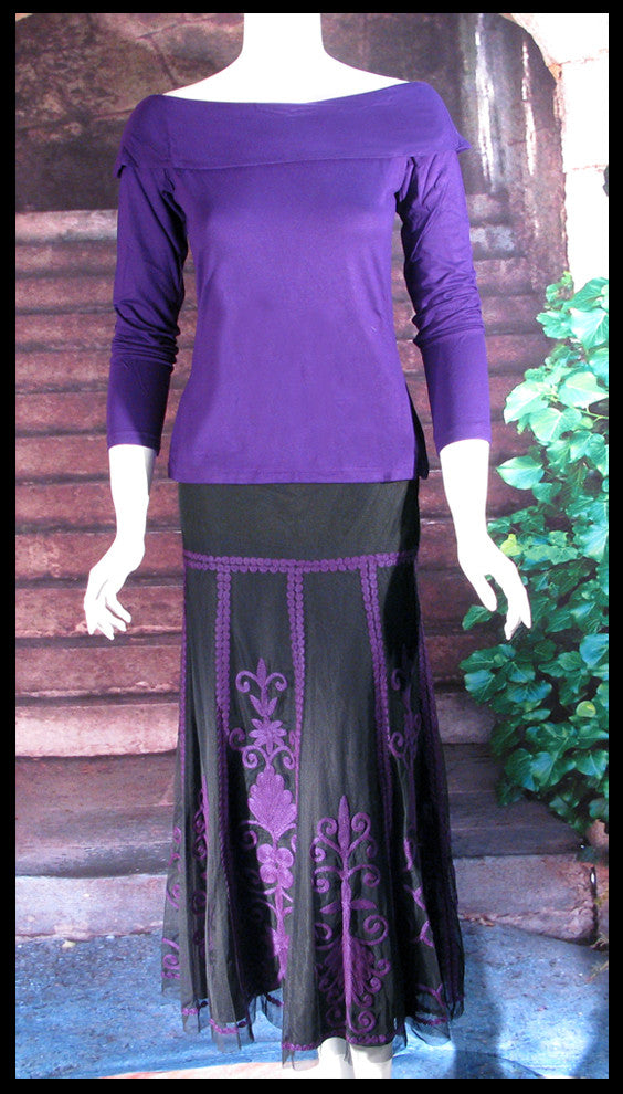 Vintage Collection Majestic Purple Opera Top