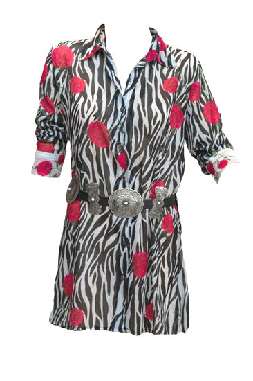 Vintage Collection Wild Rose Big Shirt/Dress