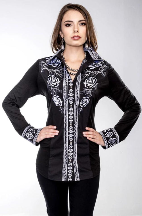 VINTAGE COLLECTION EVENING MEADOW WESTERN SHIRT on SALE