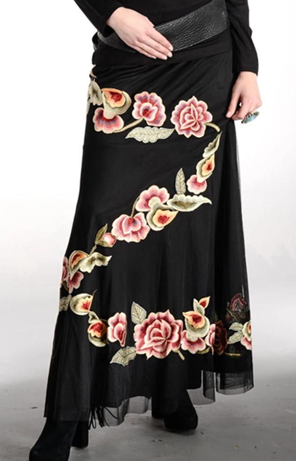 Vintage Collection Winter Garden Long Skirt - Collectible