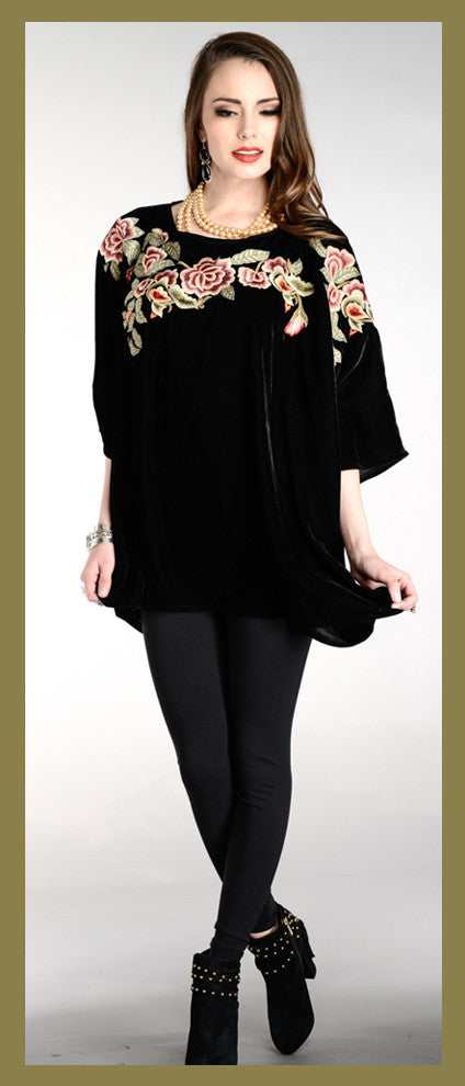 VINTAGE COLLECTION WINTER GARDEN SWING TUNIC on SALE