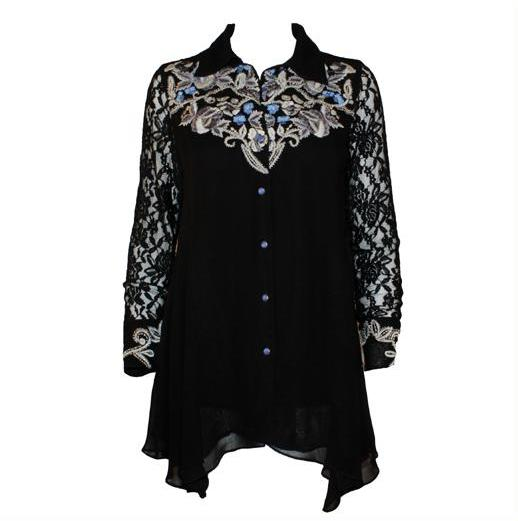 Vintage Collection Blue Ice Tunic