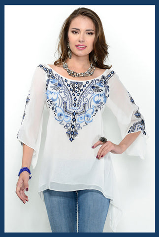 VINTAGE COLLECTION ICE QUEEN TUNIC on SALE