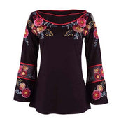 Vintage Collection October Bell Sleeve Top